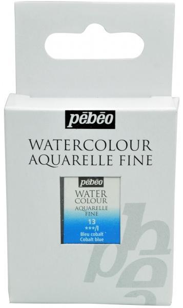 Aquarelle Fine 1/2 pan Pebeo - 13 Cobalt blue