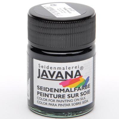 Javana Very Dark Black- боя за коприна 50 мл
