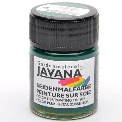 Javana Dark Green- боя за коприна 50 мл
