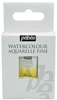 Водна боя Aquarelle Fine Pebeo - 21 Yellow ochre