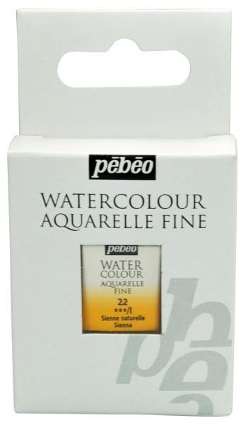 Aquarelle Fine 1/2 pan Pebeo - 22 Raw sienna