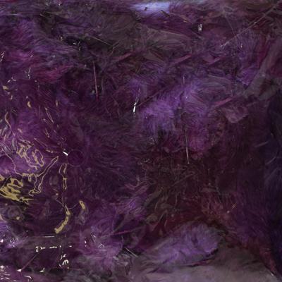 Декоративни пера - 12 гр.- тъмно лилаво