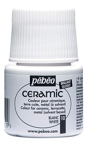 Боя за керамика Pebeo CERAMIC - white