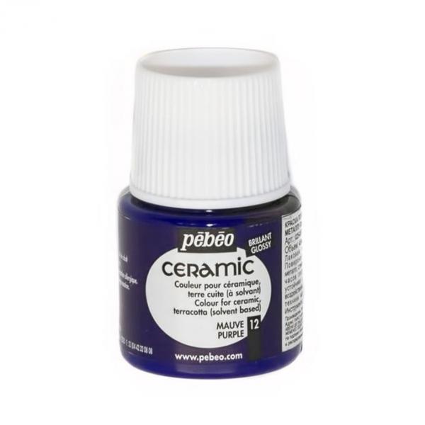 Боя за керамика Pebeo CERAMIC - purple