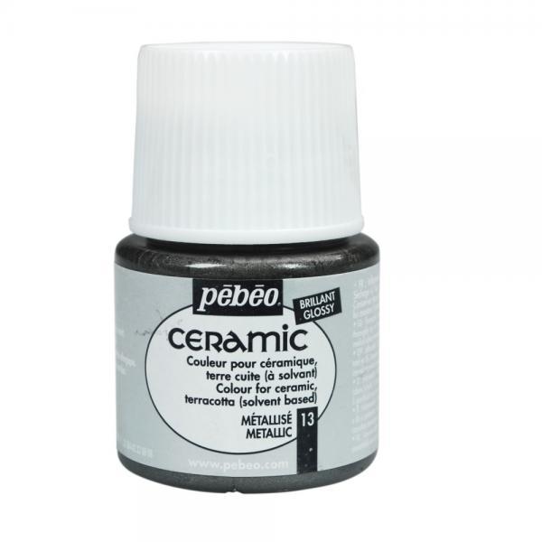 Боя за керамика Pebeo CERAMIC - metallic