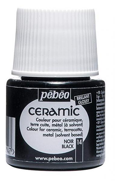 Боя за керамика Pebeo CERAMIC - black