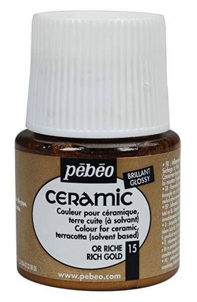 Боя за керамика Pebeo CERAMIC - rich gold
