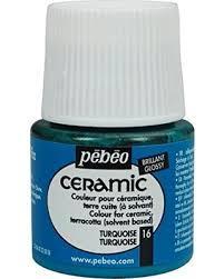 Боя за керамика Pebeo CERAMIC - turquoise