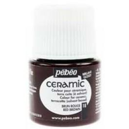 Боя за керамика Pebeo CERAMIC - red brown