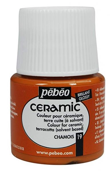 Боя за керамика Pebeo CERAMIC - chamois