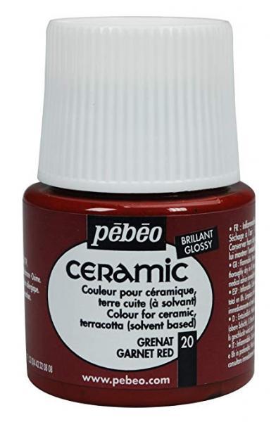 Боя за керамика Pebeo CERAMIC - garnet red