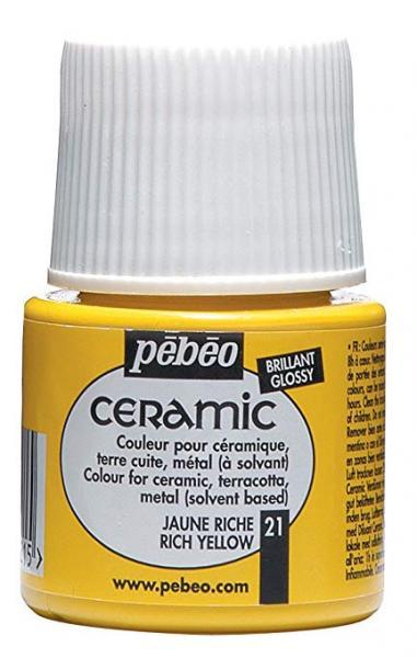 Боя за керамика Pebeo CERAMIC - rich yellow