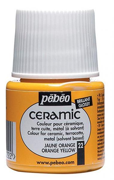 Боя за керамика Pebeo CERAMIC - orange yellow
