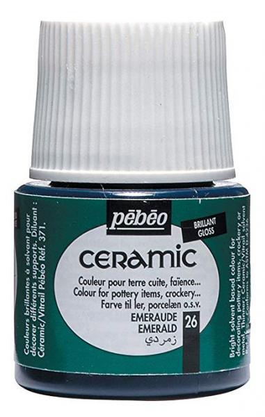 Боя за керамика Pebeo CERAMIC - emerald