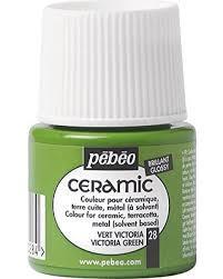 Боя за керамика Pebeo CERAMIC - victoria green