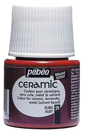 Боя за керамика Pebeo CERAMIC - ruby