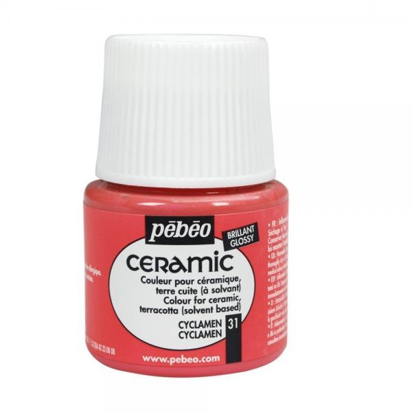 Боя за керамика Pebeo CERAMIC - cyclamen