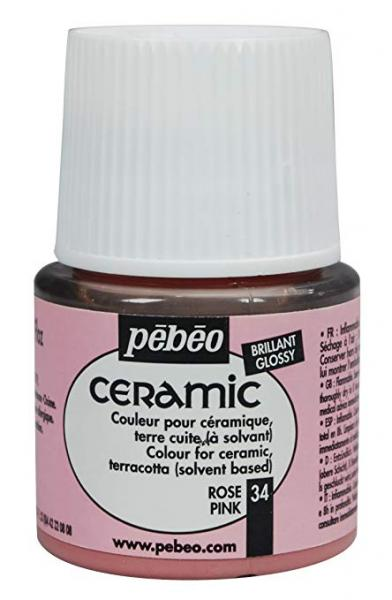Боя за керамика Pebeo CERAMIC - pink