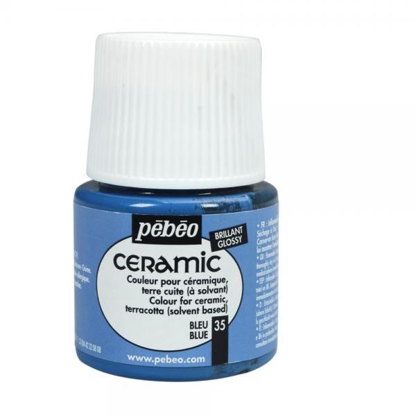 Боя за керамика Pebeo CERAMIC - blue
