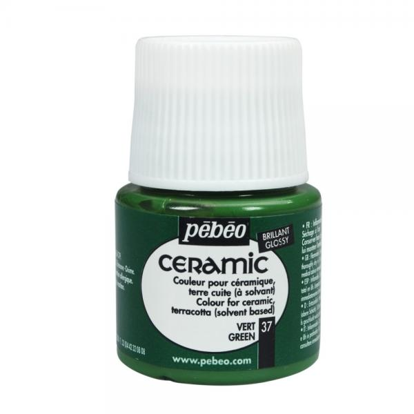 Боя за керамика Pebeo CERAMIC - green