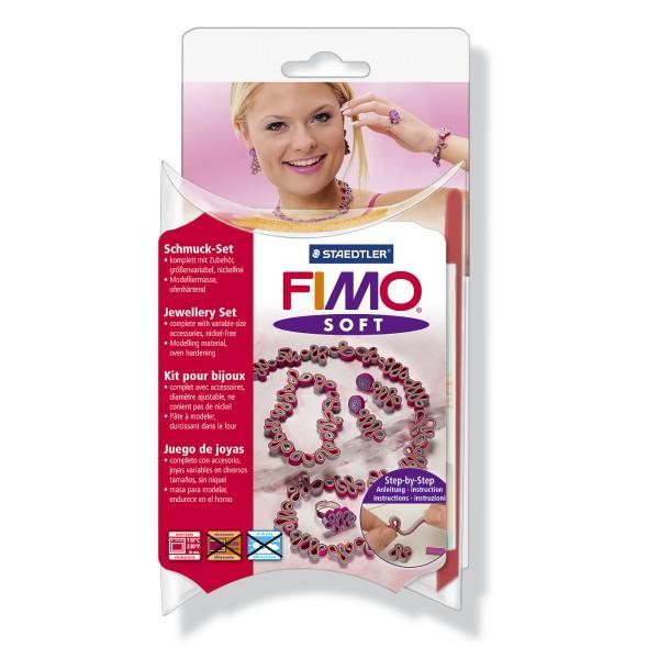 К-т глина Staedtler Fimo Soft Romantic 802388