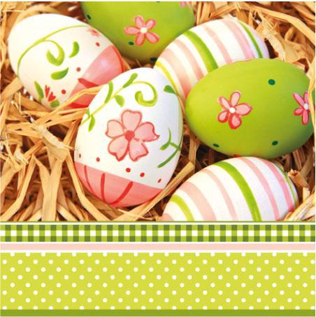 Салфетка PAW - Нарисувани яйца