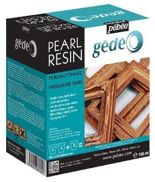 Pearl resin 150ML VERMEIL