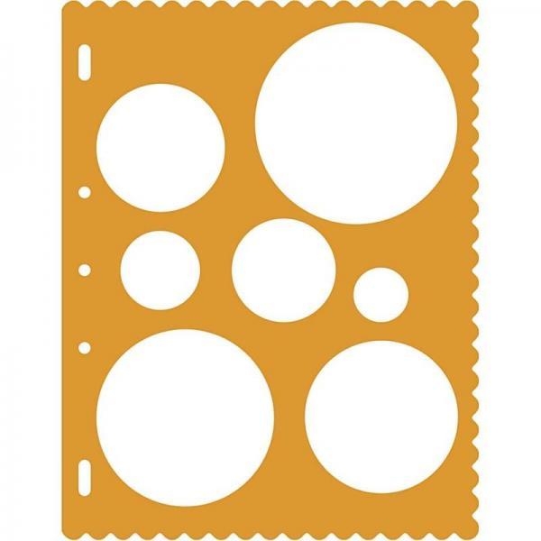 Линия за очертаване на кръгове с различни диаметри