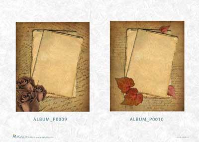 Хартия за декупаж на албуми KALit 0009-10