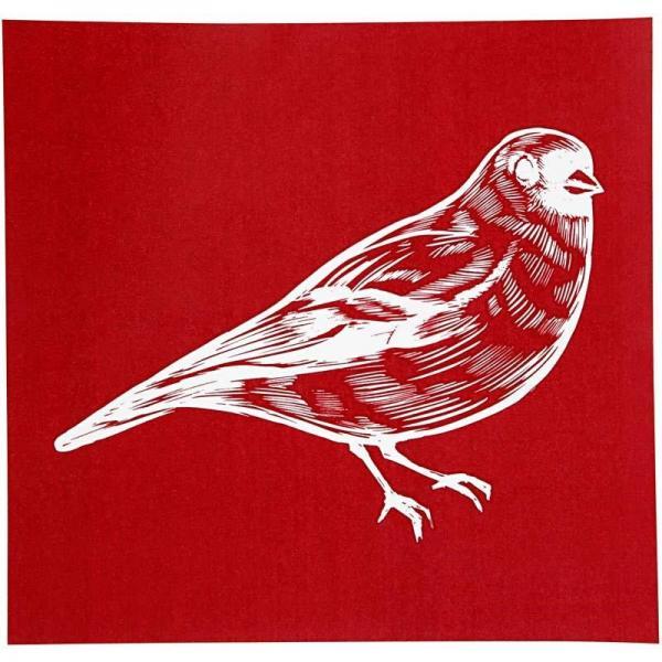 Сито шаблон 20x22 см Птица