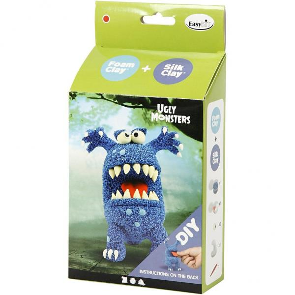 Направи си сам Funny Friends - чудовище в синьо