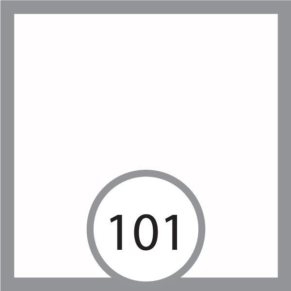 Фоам, Фоумиран 30х35 см 0,6-0,8 мм - бял 101