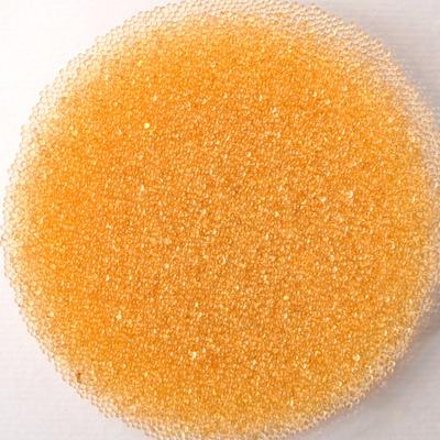 Оранжеви стъклени топченца - 20 гр.