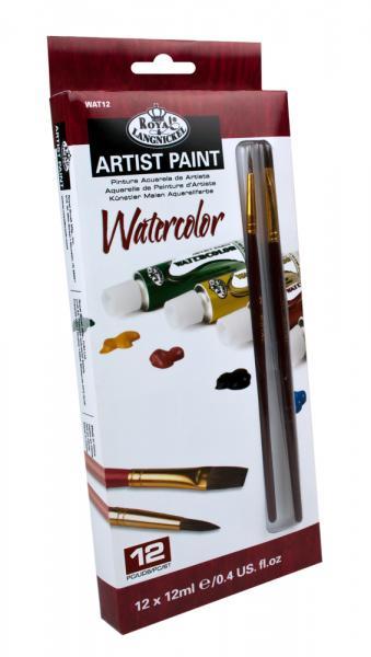 Комплект Водни бои Royal Langnickel - 12 цвята