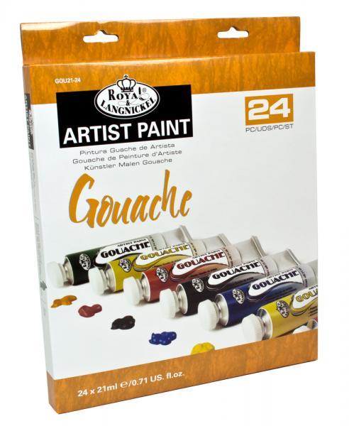 Комплект темперни бои Royal Langnickel, 24 цвята