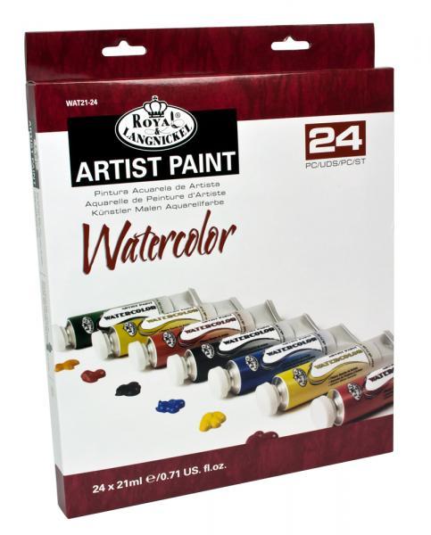 Комплект Водни бои Royal Langnickel - 24 цвята
