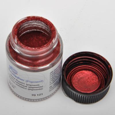 Супер-фин метален пигмент 20 мл - Червено