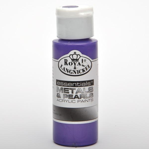 Акрилна перлена боя  RL 59 мл - Purple