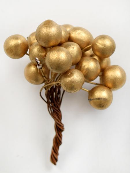 Букет златни топчета