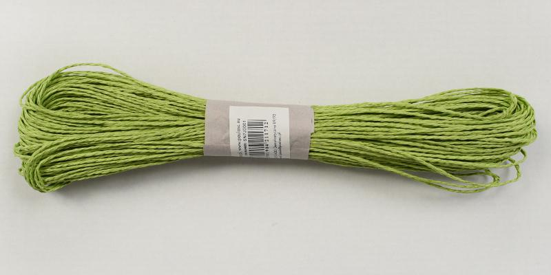 Хартиен шнур 45м. - зелено