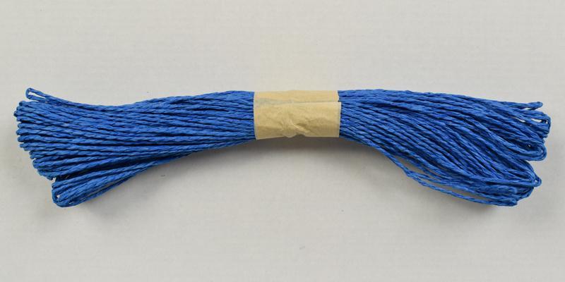 Хартиен шнур 45м. -  морско синьо