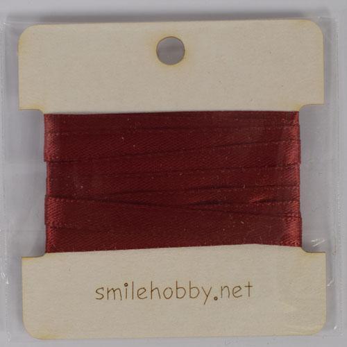 Текстилна декоративна лента  - 1м.- 5мм- бордо