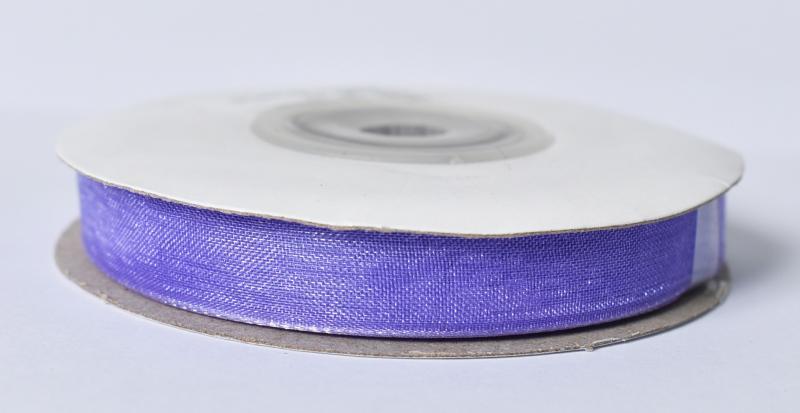 Органза за опаковане 10мм- ролка 22м-тъмно лилава