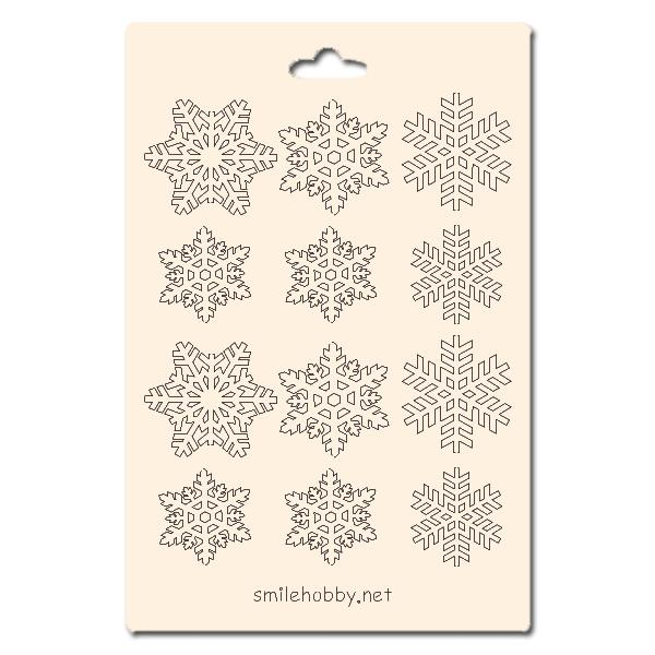 Сет от бирен картон 10х15см - Снежнка 2