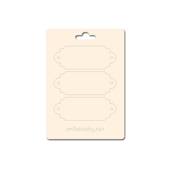 Сет от бирен картон 7х10см - Етикети 3