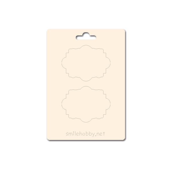 Сет от бирен картон 7х10см - Етикети 9