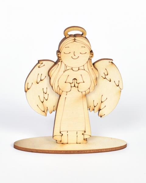 3D Ангелче - момиче