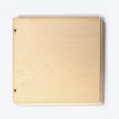Заготовка за скрапбук албум - 30/32,2 см - чист
