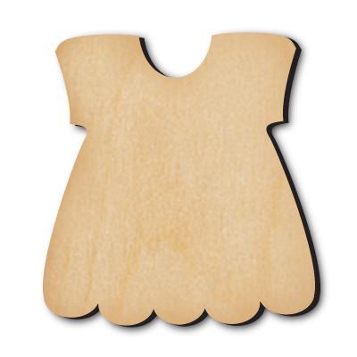 Дървена рокля