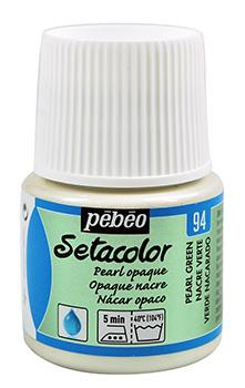 PEBEO Боя за текстил Setacolor Opaque 45 ml - pearl green 094